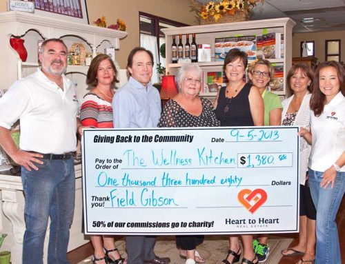 Donating to local charities: The Wellness Kitchen